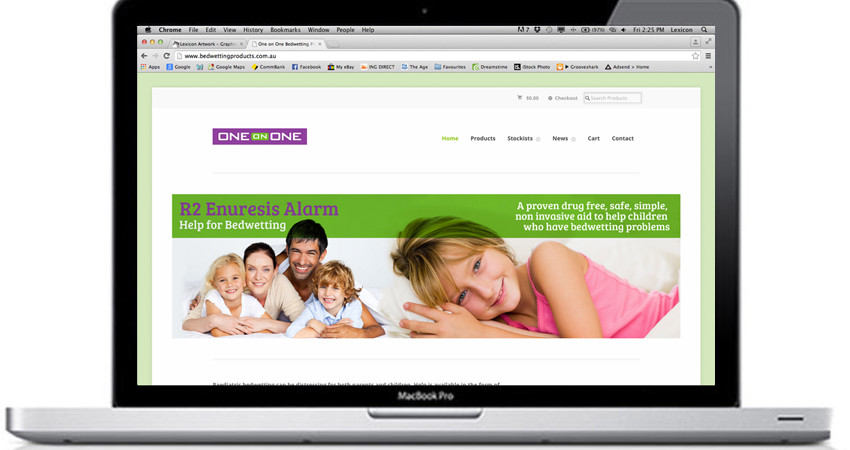 One on One Website