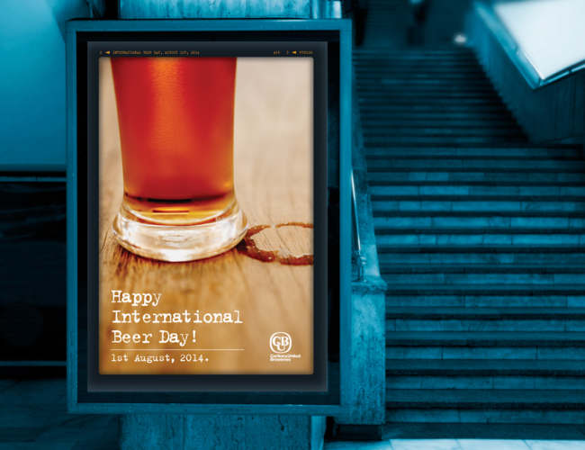 CUB Beer Day Poster