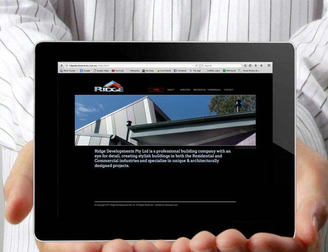 Ridge Developments Website